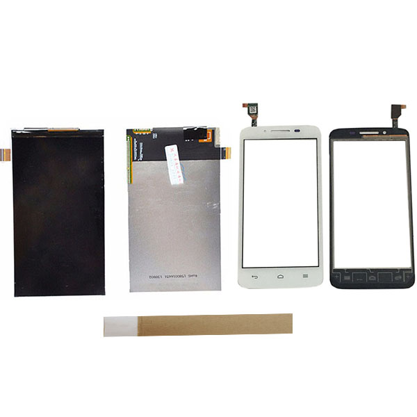 <font><b>4.5</b></font> <font><b>Inch</b></font> For Huawei Ascend Y511 <font><b>Touch</b></font> Screen+ <font><b>LCD</b></font> Display Screen Replacement Repair <font><b>With</b></font> Tape image