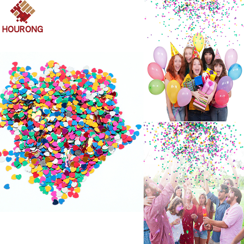Mixed Color Confetti Sprinkle Happy Birthday Party Decoration Celebration