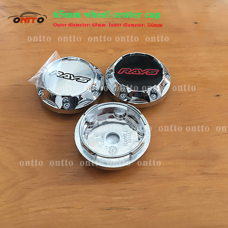 20x 65mm Car Emblem Wheel Center Cap Hub Caps Rays Volk