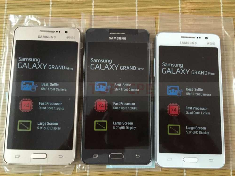 改装ロック解除オリジナルサムスンギャラクシーグランド首相 G530 G530H 携帯電話 Ouad コアデュアル Sim 1 ギガバイトの RAM 5.0 インチタッチスクリーン