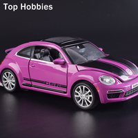 1 32 Scale Model Car Volkswagen Diecast Car Model With Sound Light Collection Car Toys Vehicle