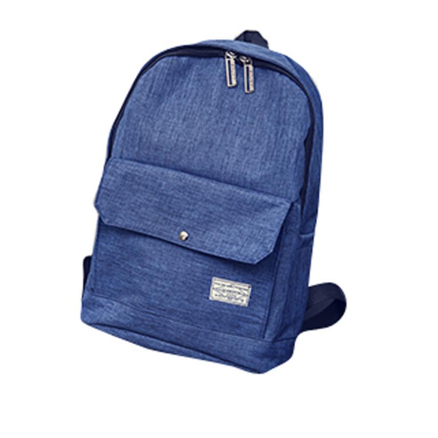 Denim Casual Daypack Backpack Women Student Shoulder Backpack Boys Rucksack Backpacks Flap Pocket Backpacks Satchel Rucksack#30