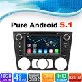 16 GB Flash, 4 Core, 1024X600, Android 5.1 Car DVD GPS Radio gps for BMW 3 Series E90 E91 E92 E93 with Manual Air Conditioner