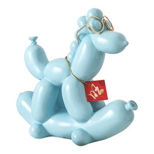 1/pcs Fashion Balloon Dog Ceramic Resin Crafts Sculpture Creative Gifts Modern Simple Home Decorations Statues Ornament R1036