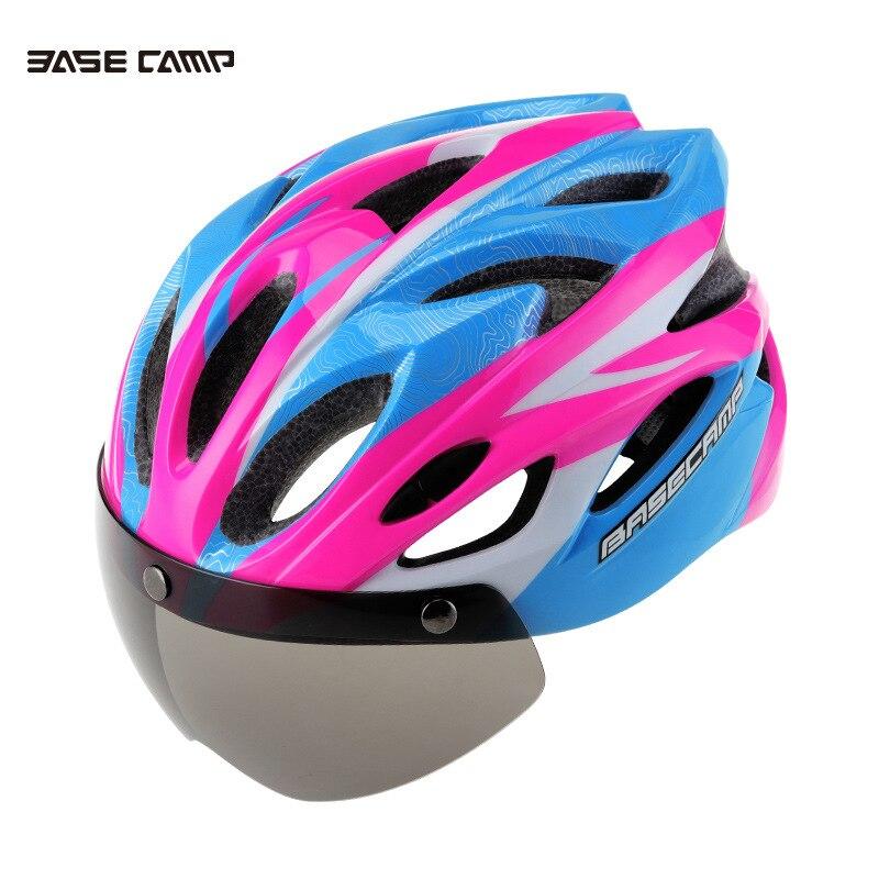54cc089fb Image BASECAMP Bicycle Helmet Cycling Glasses Helmet Ultralight Women Men  Breathable Casco Ciclismo MTB Road Bike