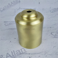M10 D70mmX90mm Large Brass Material Socket Cover Copper Base Cup Quality E27 Lamp Cover Lamp Shade