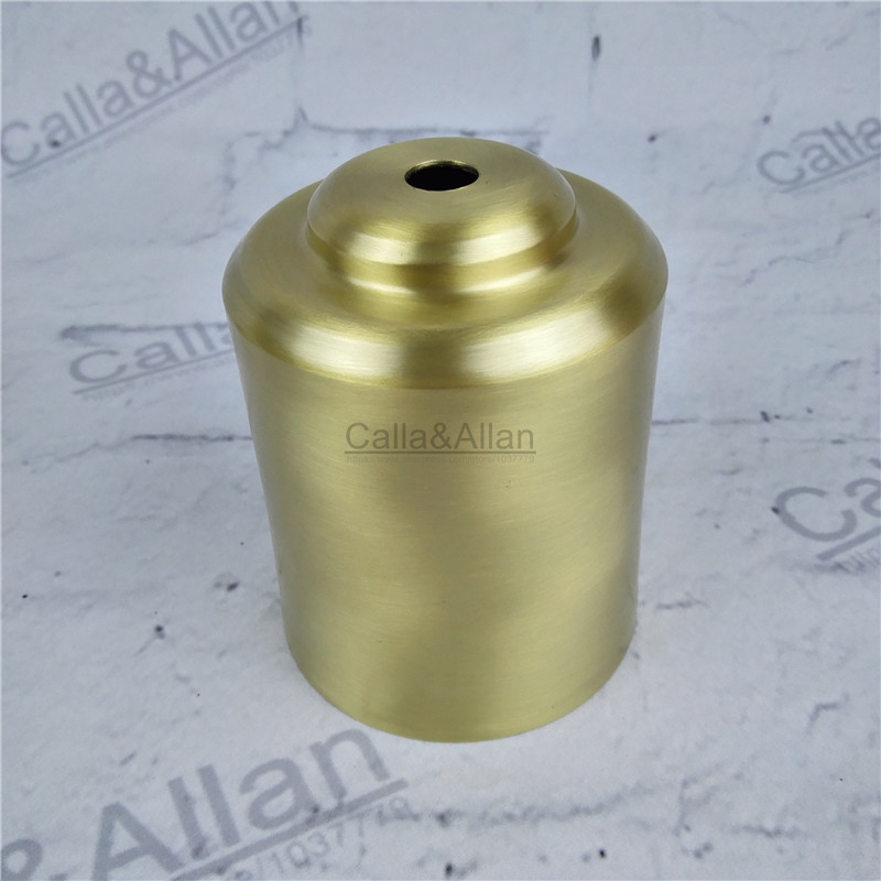 M10 D70mmX90mm large brass material socket cover copper base cup quality E27 lamp cover lamp shade hat lighting dress mount cone free shipping m40 d200mmx50mm brass material light cover copper cup shade quality e27 lamp shade cover lighting brass shade cone