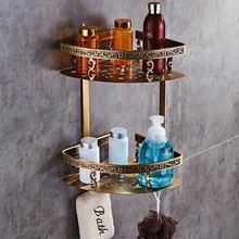 Резная полка для ванной из алюминиевого сплава Настенная Корзина