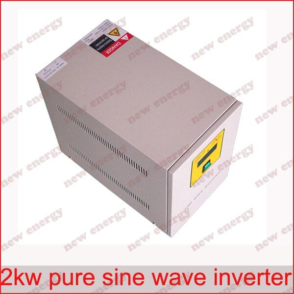 2000VA 110/120/220/230/240VAC, 50/60Hz output Industrial Frequency pure sine wave inverter for 48V battery 50 60hz 48v dc sine wave inverters 6000w