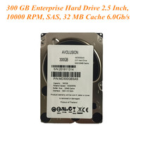 300GB 10K SAS 6Gb/s 2.5inch Internal Enterprise Hard Drive Server HDD Warranty 1 year