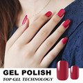 Candy Lover red color gel nail polish 8ml uv gel varnish Long-lasting soak-off led/uv lamp curing gel lacquer hot nail gel #100