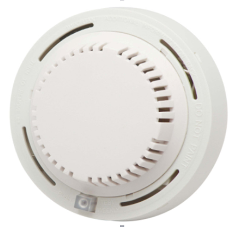 Wireless Ceiling Mount Smoke Detector For GSM Alarm System 433mhz/315mhz yongkang wireless 433mhz 1527 200k smoke detector for gsm alarm system