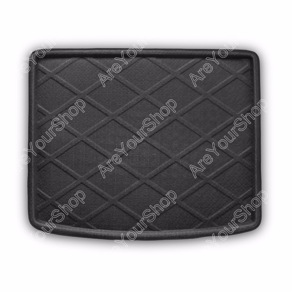 Car Auto Cargo Mat Boot liner Tray Rear Trunk Stickers Dog Pet Covers For VW Touareg 2004-2010 Waterproof Car Styling Stickers car rear trunk security shield cargo cover for volkswagen vw tiguan 2016 2017 2018 high qualit black beige auto accessories