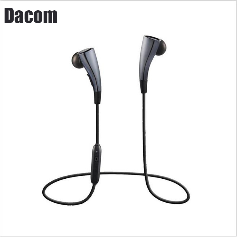 Original DACOM G11 Dacom Bluetooth 4.1 Headset Wireless Earpiece Casque Bluetooth Sport Magnet Earphones IPX3 Headset With Mic new dacom carkit mini bluetooth headset wireless earphone mic with usb car charger for iphone airpods android huawei smartphone