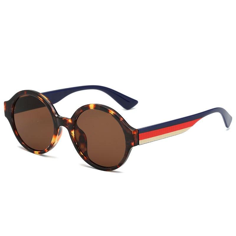 Haben Sie Einen Fragenden Verstand 2019 Neue Kinder Sonnenbrille Runde Vintage Baby 6-15 Jahre Jungen & Mädchen Gläser Breite Bein Nette Strert Kühlen Kind Gläser Brillen N343