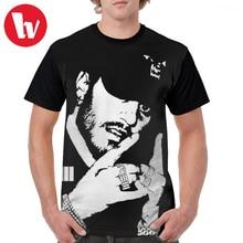 цены на Russ T Shirt Russ Black White T-Shirt Awesome Printed Graphic Tee Shirt Streetwear Short-Sleeve Man 100 Percent Polyester Tshirt в интернет-магазинах