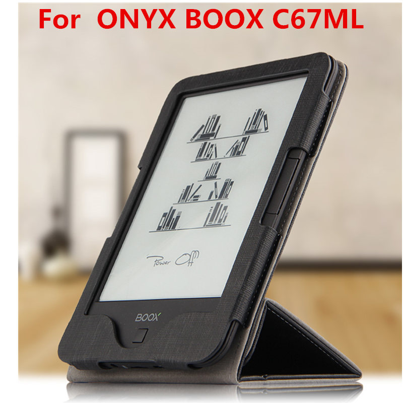 PU Leather Case For ONYX BOOX C67ML Protector eBook Reader Smart Cover Protector For boox C67ML Carta Carta 2 Sleeve 6'' Cases harman kardon onyx studio 2 black