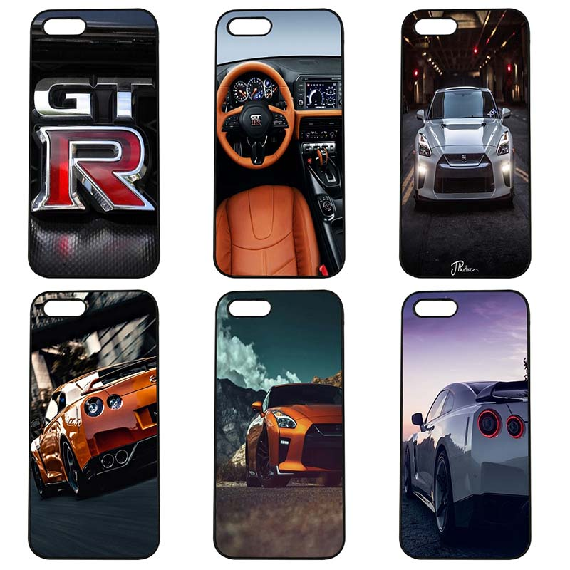 Cool GTR Nissan Super Mobile Cell Phone Case Hard Cover Fitted for iphone 8 7 6 6S Plus X 5S 5C 5 SE 4 4S iPod Touch 4 5 6 Shell