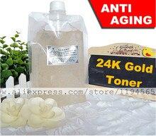 1 кг Nano 24 К Decleo r золотой фольги тонер уход за кожей сыворотка против старения против морщин отбеливание Mosturizing 1000 мл салон красоты оборудование
