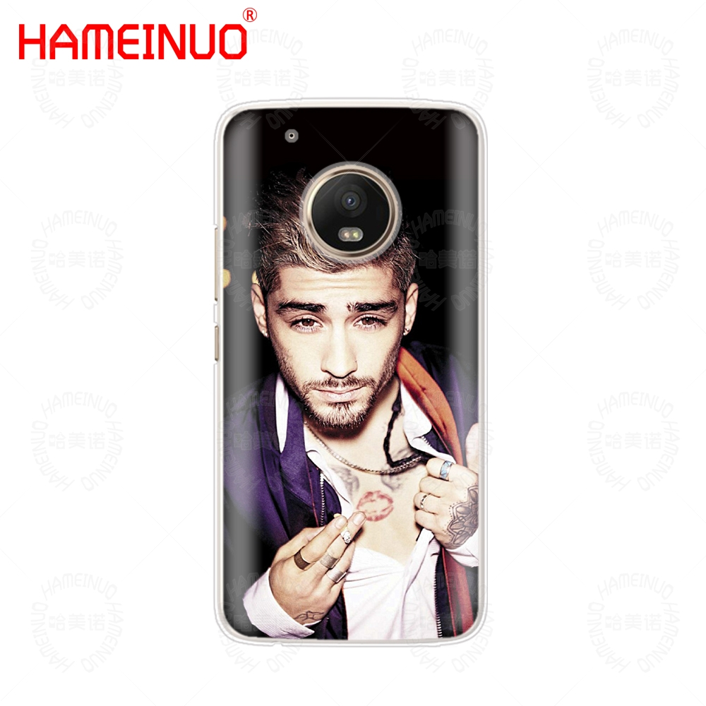 HAMEINUO Zayn Malik case phone cover For Motorola Moto X4 E4 C G6 G5 G5S G4 Z2 Z3 PLAY PLUS