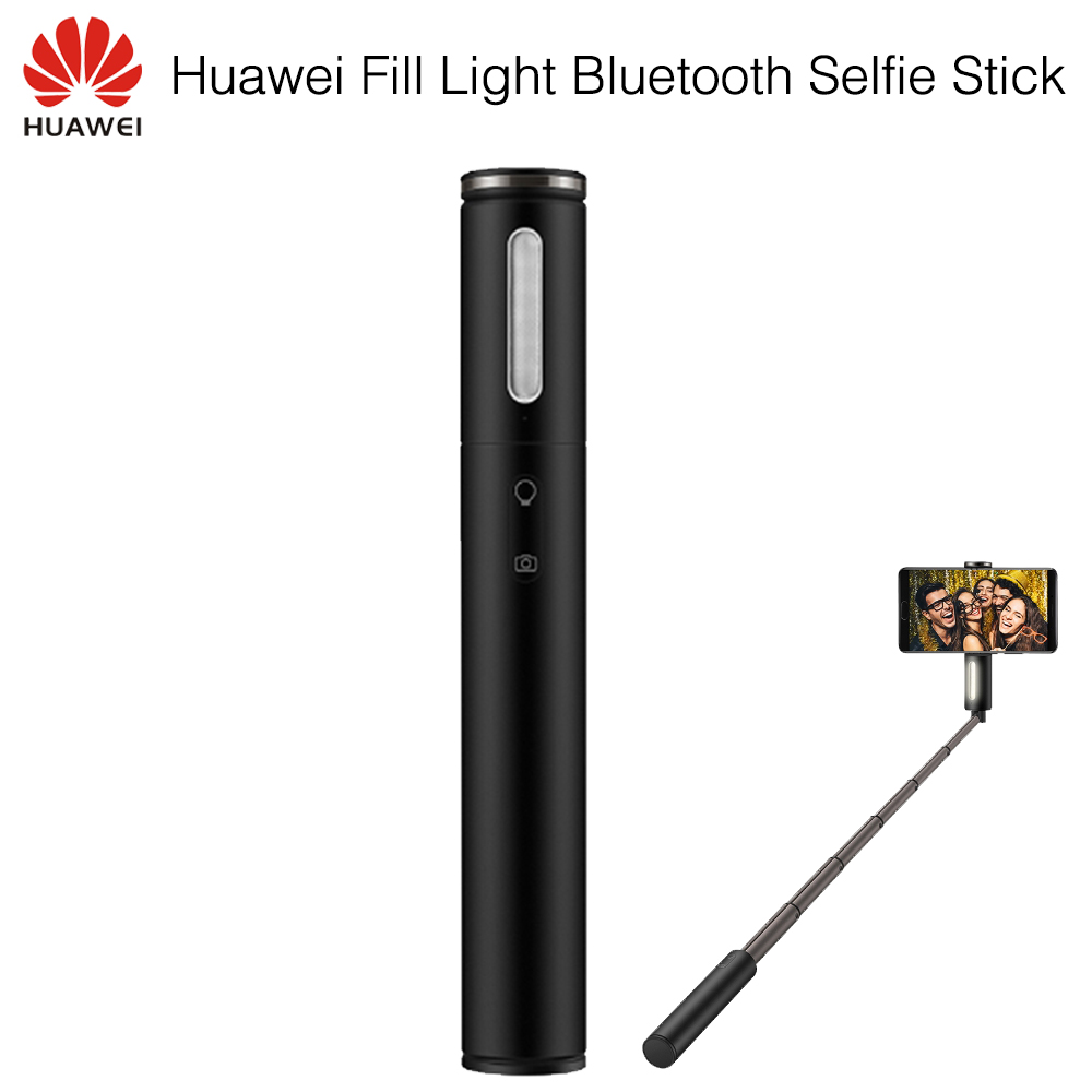 Original Huawei Fill Light Bluetooth Selfie Stick Portable Wireless Monopod Extendable Handheld Shutter Holder For IOS/AndroidOriginal Huawei Fill Light Bluetooth Selfie Stick Portable Wireless Monopod Extendable Handheld Shutter Holder For IOS/Android