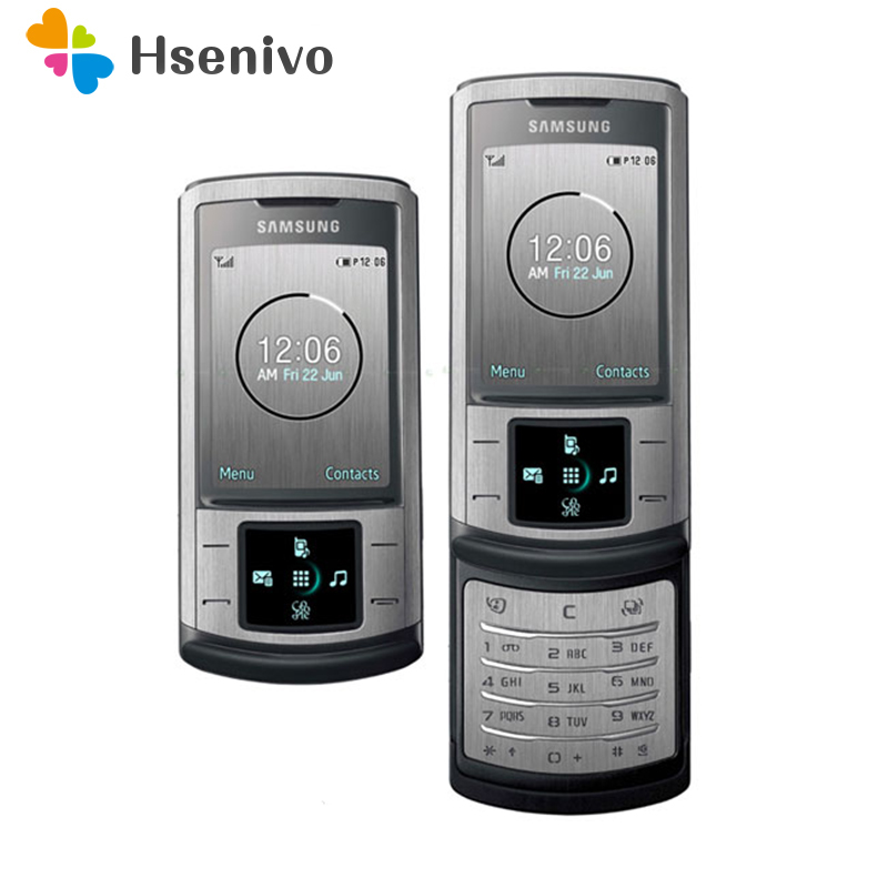 U900 Original Unlocked Samsung U900 Soul GSM 2MP Camera Slider Refurbished Cellphone Refurbished