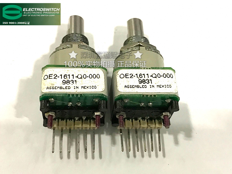 [VK] US imports photoelectric code switch OE2-1611-Q0-000 medical device encoder e3x da21 s photoelectric switch