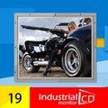 Industrial 19 polegada quadrada resistiva touch screen open frame LCD monitor com interface HDMI