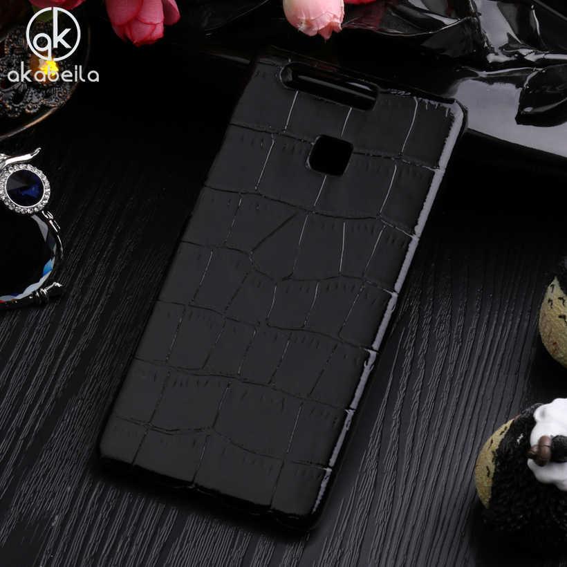 Fundas de funda para Huawei P9 Lite para teléfono 3D leopardo bonito + Fundas traseras de PU EVA-L09 (SIM simple) EVA-L19 EVA-L29 (SIM Dual) carcasa duradera