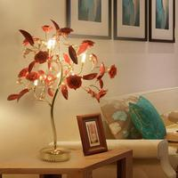 Отель в стиле АР деко светодиодный Дерево Настольные лампы свадебные Светодиодный Настольные лампы Гостиная витрина Home Art светодиодный рис