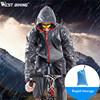 Waterproof Cycling Jersey Raincoat Ropa Ciclismo Wind Rain Coat Pant Windproof Bicycle Clothing MTB Bike Climbing
