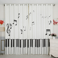Custom Made 2x Grommet Drapery Drape Curtain Nursery Kids Children Room Window Dressing 200cm X 260cm