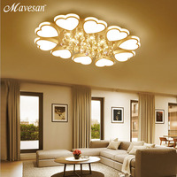 Modern Led Ceiling Lights For Home Remote Control Dimming Living Room Bedroom Lamp FIxtures Modern Ceiling