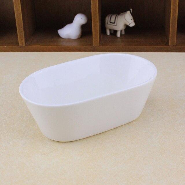 Innendekor weiß keramik blumentopf für sukkulenten ovale form vase ...