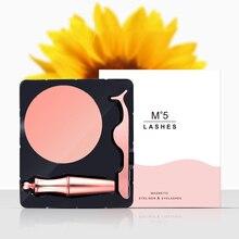 3d Mink Lashe False Eyelash Set Magnet Eyelashes 2019 Handmade Reusable Natural Popular Stereo False Eyelashes цена