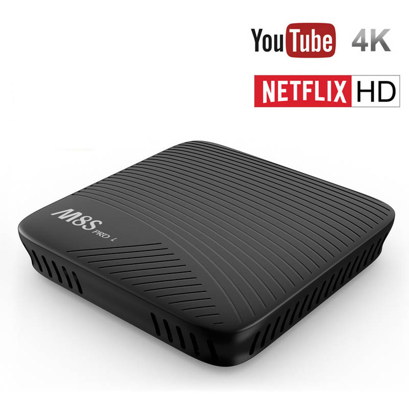 Mecool M8S Pro L Android 7.1 TV Box Amlogic S912 Octa Core 3GB RAM 32GB ROM 4K Youtube HD Smart Mini PC Set Top Box Kodi Wifi BT 3gb 32gb rom android tv box h96 pro plus android 7 1 amlogic s912 octa core 4k h 265 dual wifi bt4 0 h96 pro mini pc set top box