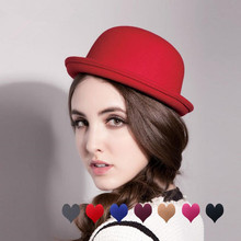 Women's Hat Church Fedoras Spring Autumn Vintage Children Cute And Red Sun-Caps Feeling