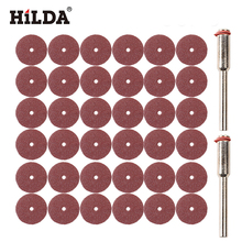 HILDA 30pcs Sanding Sheet Disc Sand Paper 20x0.3mm dremel style acsessories suit for dremel rotary tools(China)