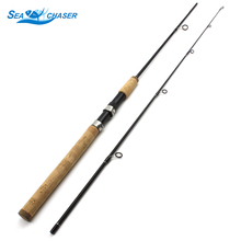 1.8m wooden handle  Carbon Carp spinning Fishing Rod pole lure rod 12-25lb lure wt 7-28g M power fast cheap fishing pole