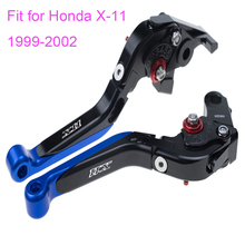 KODASKIN Left and Right Folding Extendable Brake Clutch Levers for Honda X-11 1999-2002