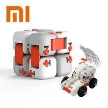 Оригинальные XiaoMi Mitu пальчиковые кубики Mi строительные блоки палец Спиннер подарок для детей Безопасность Портативный строитель умные мини-игрушки