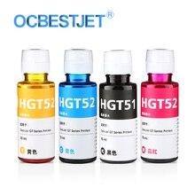 100 мл/бутылка универсальные чернила для hp GT51 GT52 GT5810 GT5820 GT серии струйный принтер для GT 51 52 GT 5810 5820 Заправка чернилами