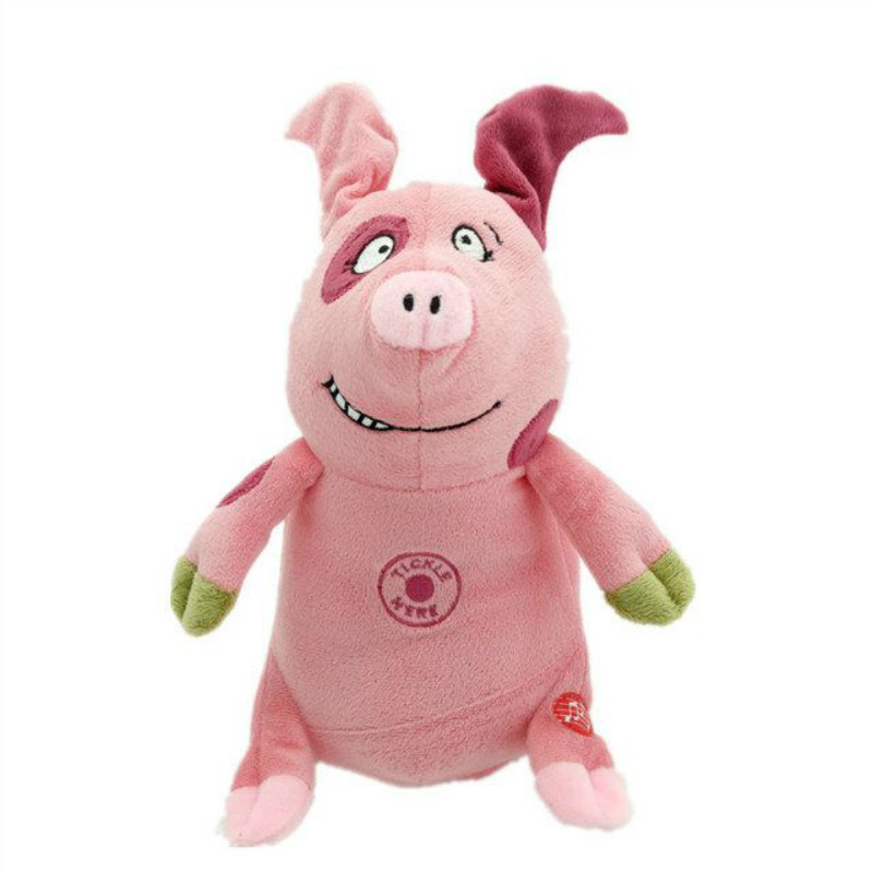 Cute Pink singing and dancing Electronic puzzle Cartoon pig with Cow ears playful Piglet stuffed Doll Mini Animals,Birthday Gift 6axle foldable rack rc helicopter kit apm2 8 flight control board gps 1000kv motor 10x4 7 propeller 30a esc at10 tx f02015 j