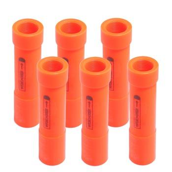WORKER MEGA A9353 plastikowa modyfikacja beczki przełącznika dla Nerf pomarańczowa beczka dla pocisków Nerf na pistolet Nerf Mega tanie i dobre opinie EFHH Metal Zabawki karabin maszynowy 14 lat Diecast Unisex do not eat middle
