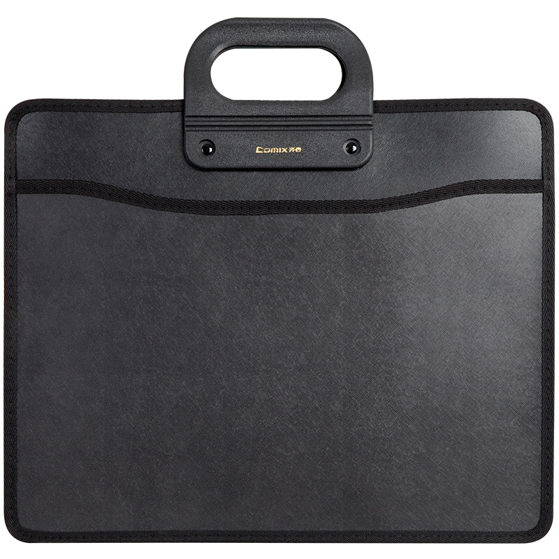 File package folder A4 handheld Mobile office essential multifunctional bag,  business package office affairs and practical essential mathematics for economics and business