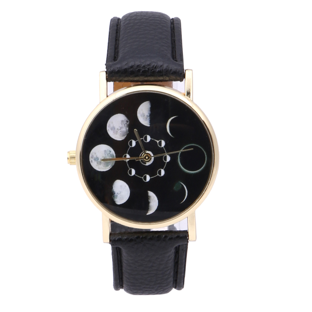 2019 New Brand Solar Watch Women Eclipse Phenomenon horloge Fashion Solar Eclipse Glass horloge Ladies bayan saat horloges vrouwen