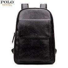 Vicuna polo de moda de corea hombres del diseño de marca mochila portátil estilo preppy mochila de la escuela secundaria para la universidad de moda hombre mochila