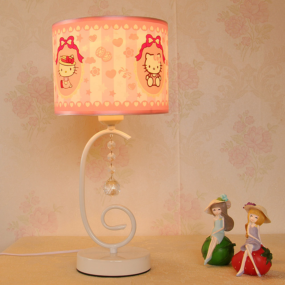 Light Table LED Mini Touch Switch Lamps Desk Luminarias Contemporary Cloth Cute Reading Luminaria Mesa Table Lamps