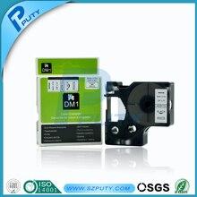 Dymo этикетки производитель 40913 черного цвета на белом 9 мм 40913 DYMO D1 этикетки лента совместимо для DYMO labelmanager принтер ленты