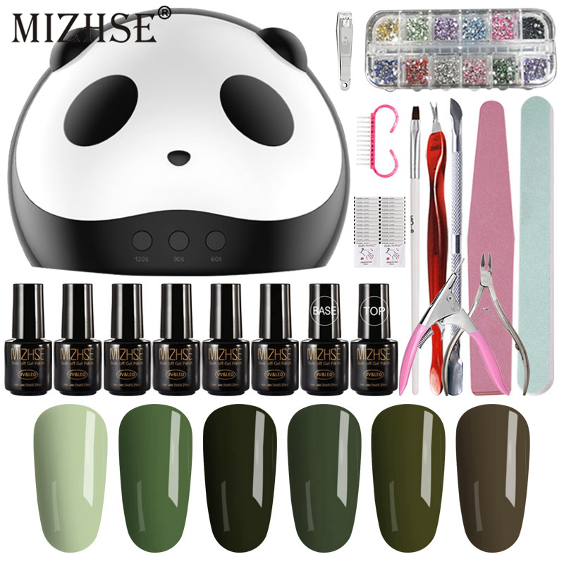MIZHSE Nail Kit Professional Set Acrilico Nails Vernis Semi Permanant 36W LED Lamp With Nail Polish Vernis Gel UV Nail LaqucerMIZHSE Nail Kit Professional Set Acrilico Nails Vernis Semi Permanant 36W LED Lamp With Nail Polish Vernis Gel UV Nail Laqucer